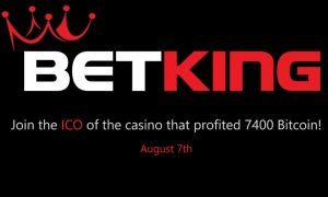 PR: Online Cryptocurrency Casino BetKing Set to Relaunch New Platform Following the ICO