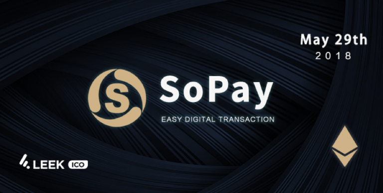 PR: Cryptocurrency Payment Service Platform Sopay Launches Crowdfunding on the LEEKICO Platform