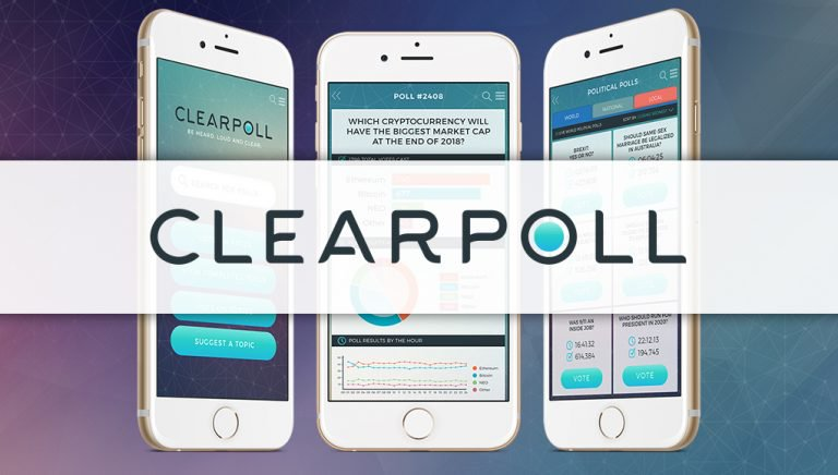 PR: ClearPoll (Poll) Smashes Their Token Sale Hard Cap – Now Listed on HitBTC