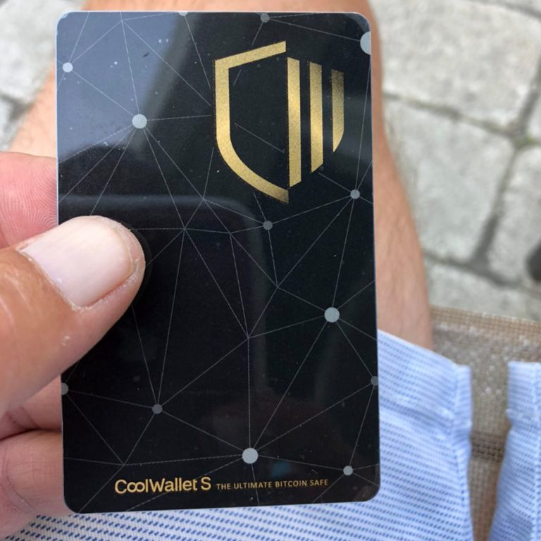 A Hands On Review of the New Card-Shaped Hardware Device Coolwallet S