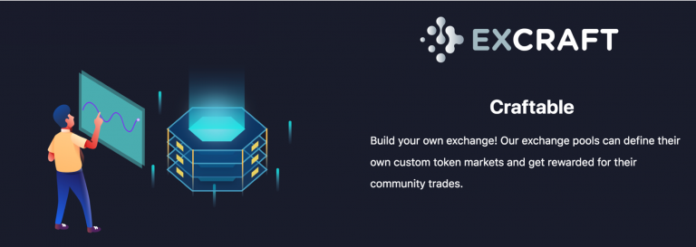 PR: ExCraft Launches DAO, User-Governed Cryptocurrency Exchange