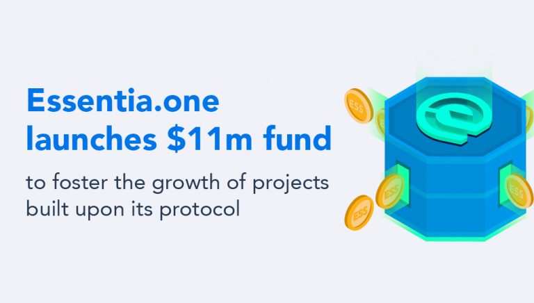 PR: Essentia.one Earmarks $11m to Foster Development of Projects Based on Its Protocol