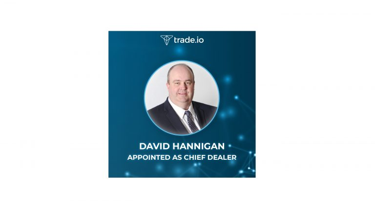 PR: trade.Io Appoints Banking Veteran David Hannigan to Run OTC Desk