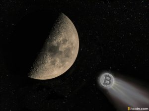 Bitcoin's Meteoric Price Rise to the Moon Reaches $2000