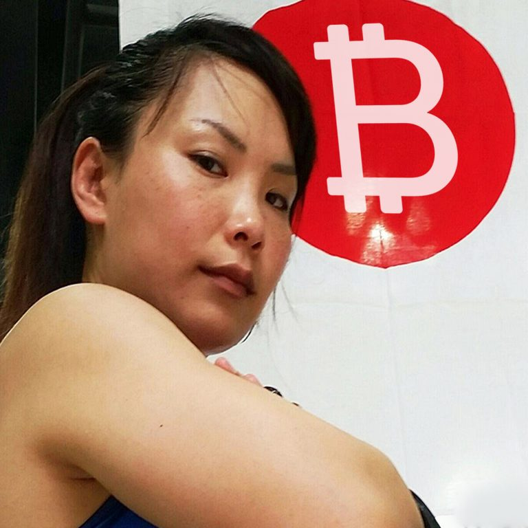 One Championship MMA Fighter Mei Yamaguchi Sponsored by Bitcoin.com