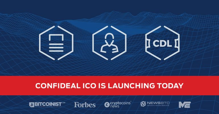 PR: Confideal, a Smart Contract Management Platform Announces the Start of Their Initial Coin Offering (ICO) After Garnering Cooperation with 13 Companies and Creating an MVP