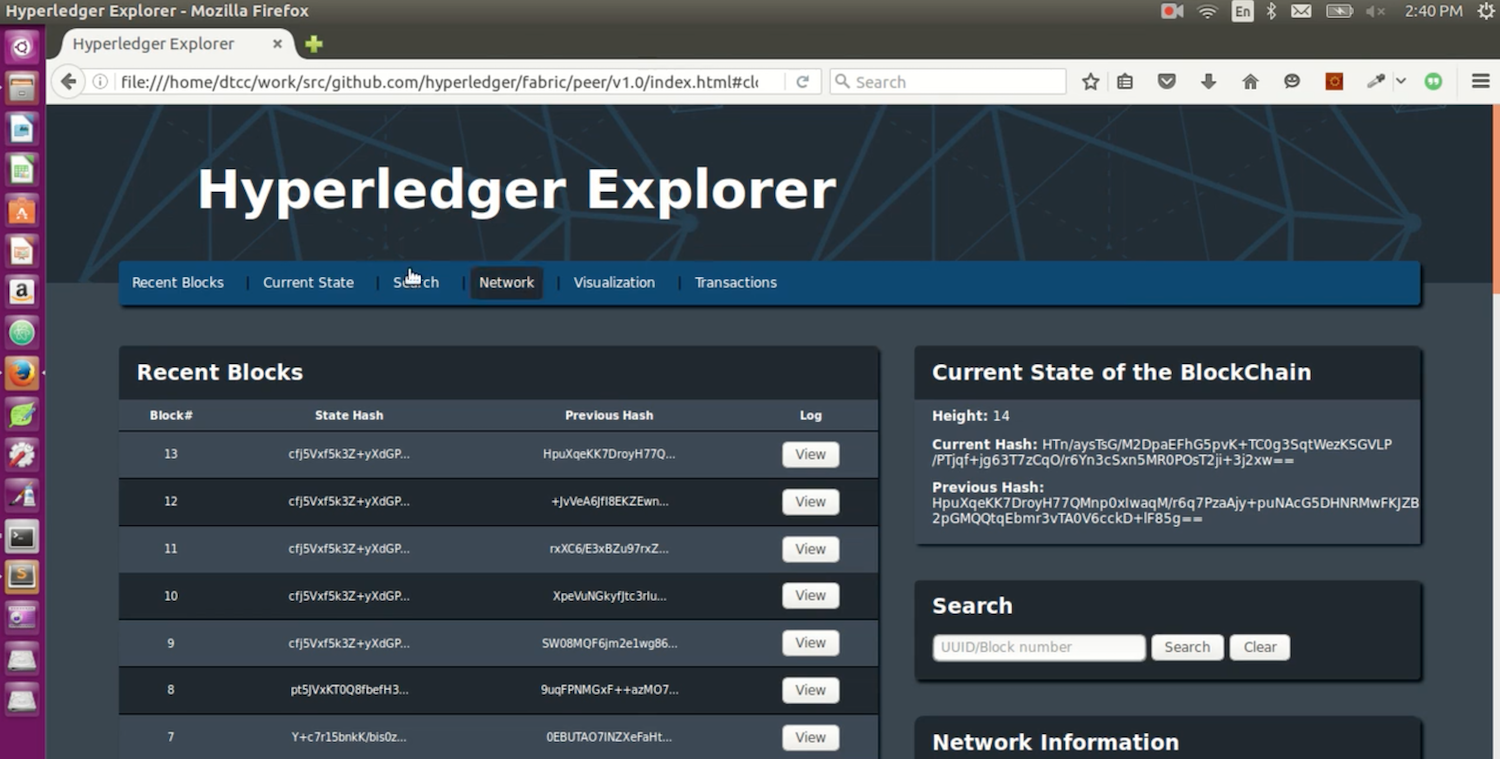 Hyperledger Tests Open Strategy With First Blockchain Explorer