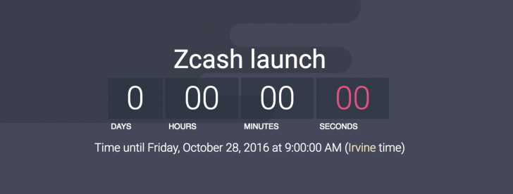 The Zcash Blockchain is Now Live
