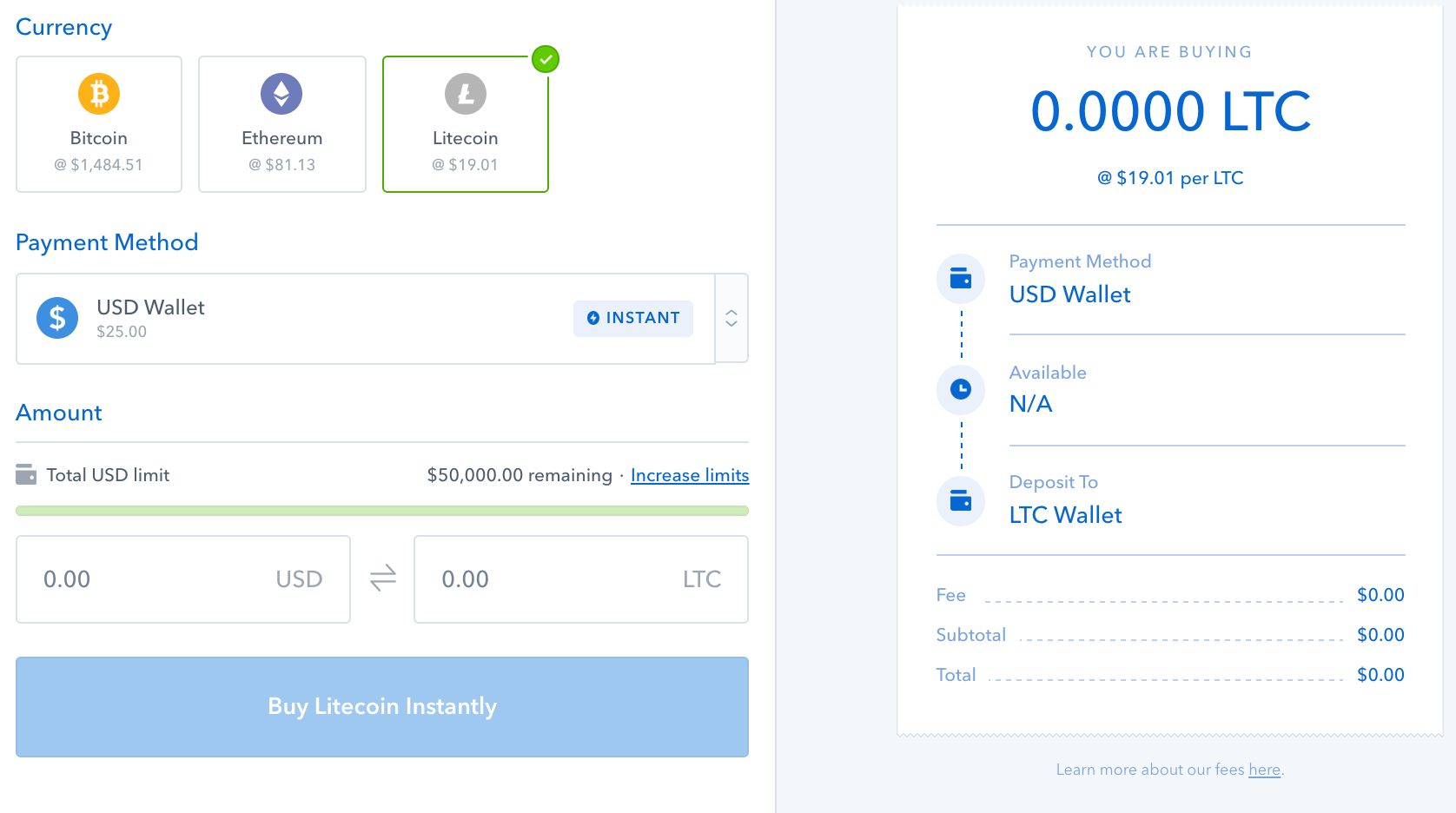 Coinbase Users Can Now Buy and Sell Litecoin