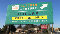 Check Out Bitcoin's Silicon Valley Billboard!