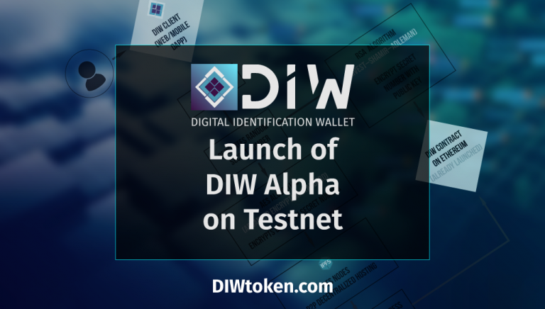 PR: DIWtoken.com – Alpha Launch on Testnet Before the End of ICO