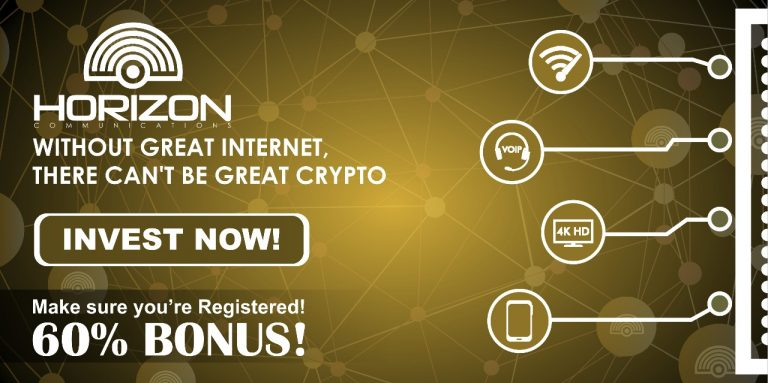 PR: Horizon Communications, an ICO Building Telecommunication Infrastructure, Is Now Live