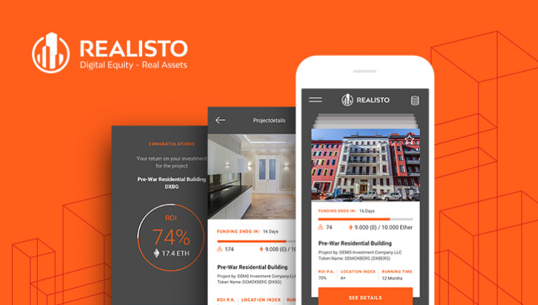 PR: Realisto Announces ICO to Launch Global Crowdfunded Real Estate Investment