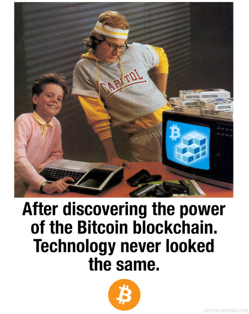 After Discovering the Power of the #Bitcoin #Blockchain