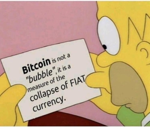 #Bitcoin is not a bubble.