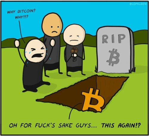 Bitcoin is dying!