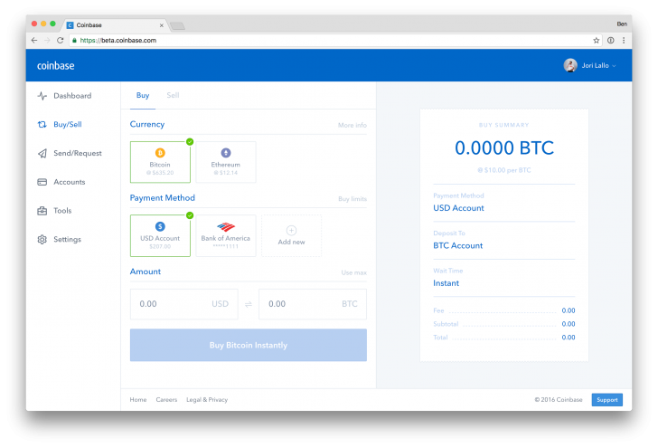 Coinbase Redesigns Wallet Website for Digital Assets
